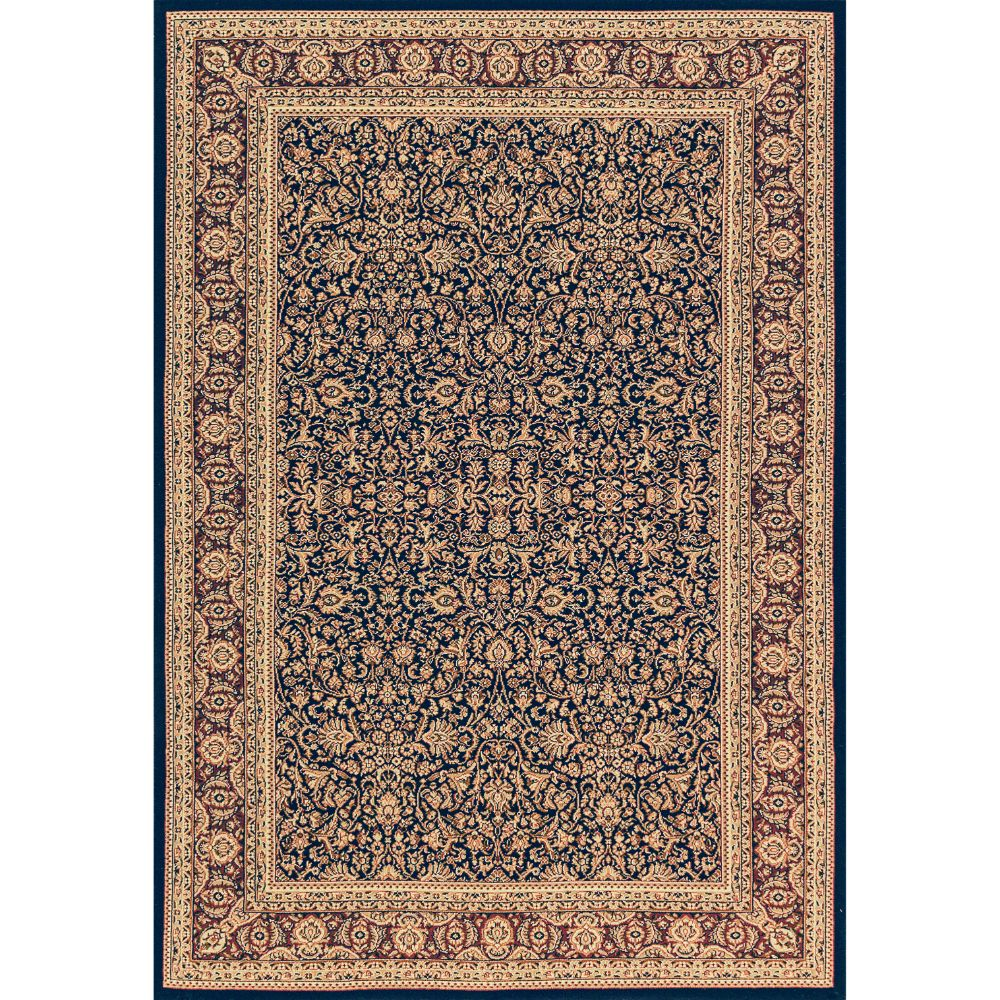 Dynamic Rugs 58004-530 Legacy 2 Ft. X 3 Ft. 6 In. Rectangle Rug in Navy