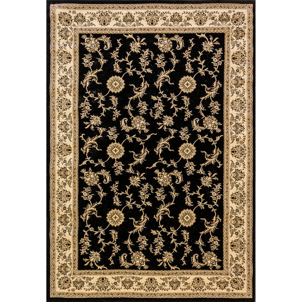 Dynamic Rugs 58017-090 Legacy 9 Ft. 2 In. X 12 Ft. 10 In. Rectangle Rug in Black
