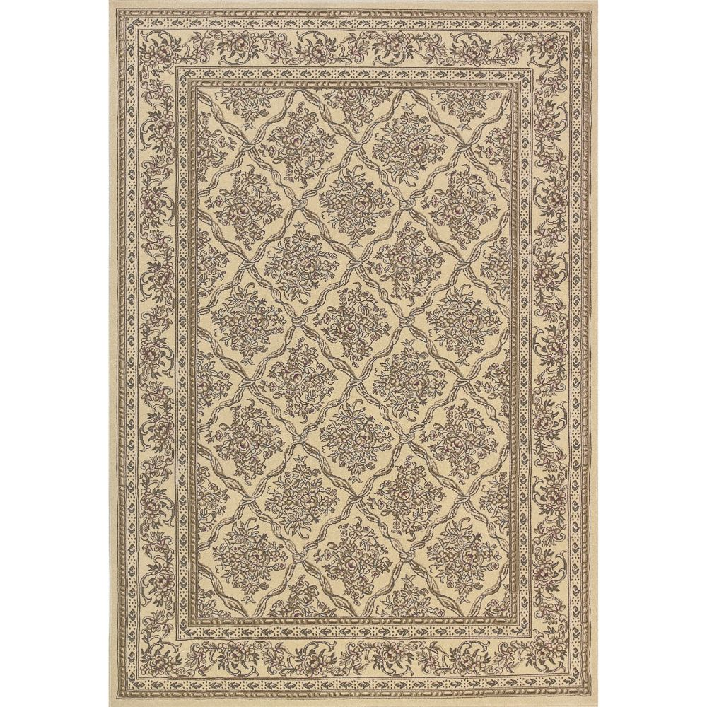 Dynamic Rugs 58018-100 Legacy 9 Ft. 2 In. X 12 Ft. 10 In. Rectangle Rug in Ivory