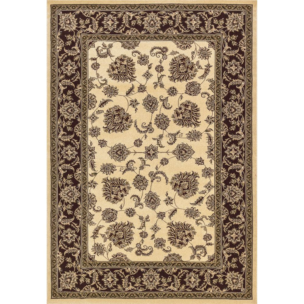 Dynamic Rugs 58020-160 Legacy 9 Ft. 2 In. X 12 Ft. 10 In. Rectangle Rug in Cream/Brown