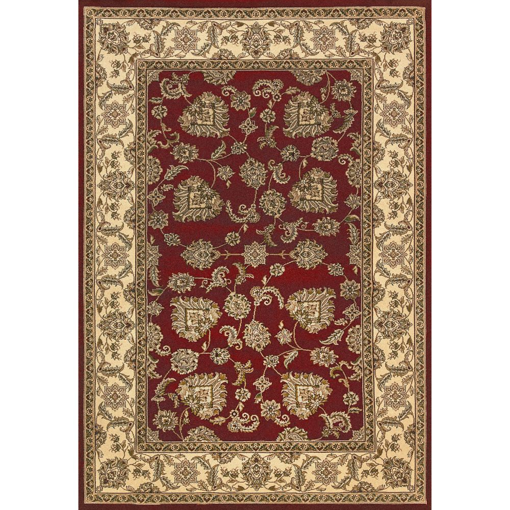 Dynamic Rugs 58020-330 Legacy 2 Ft. X 3 Ft. 6 In. Rectangle Rug in Red