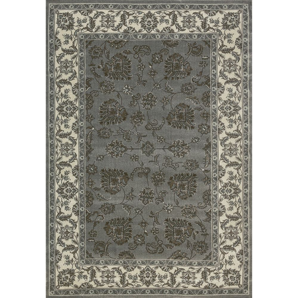 Dynamic Rugs  58020-510 Legacy 9 Ft. 2 In. X 12 Ft. 10 In. Rectangle Rug in Dark Blue/Ivory