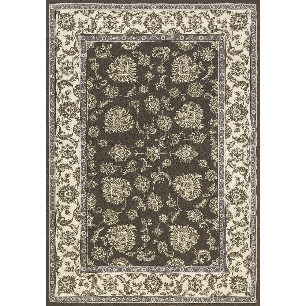 Dynamic Rugs  58020-910 Legacy 9 Ft. 2 In. X 12 Ft. 10 In. Rectangle Rug in Dark Grey Ivory