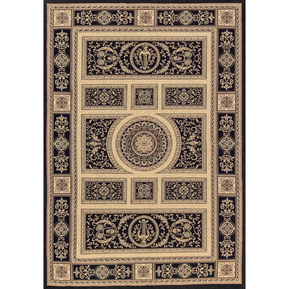 Dynamic Rugs 58021-090 Legacy 9 Ft. 2 In. X 12 Ft. 10 In. Rectangle Rug in Black