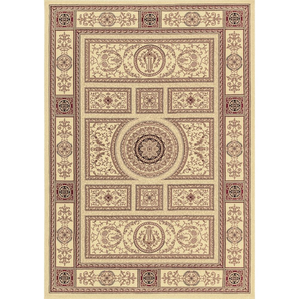 Dynamic Rugs 58021-102 Legacy 9 Ft. 2 In. X 12 Ft. 10 In. Rectangle Rug in Ivory