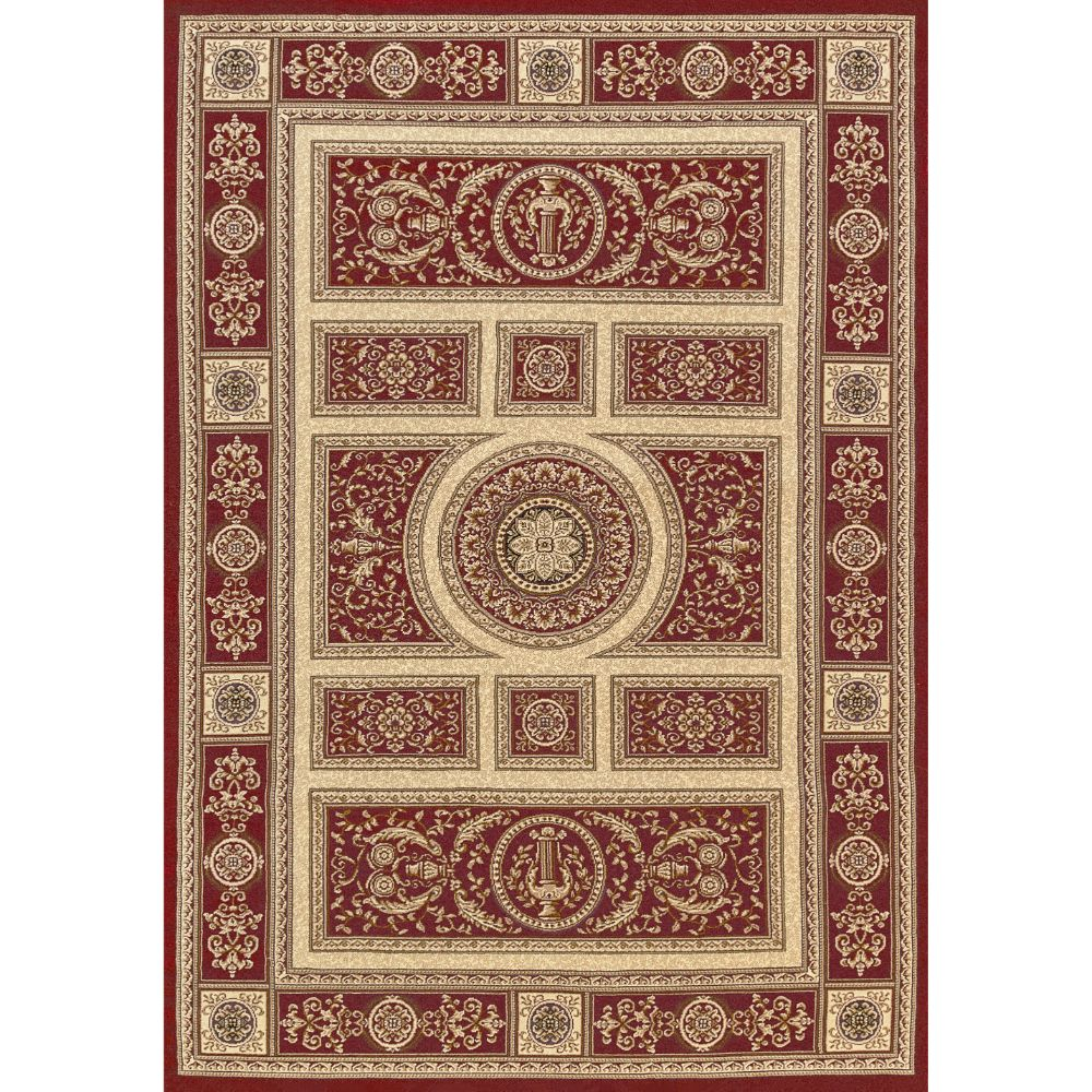 Dynamic Rugs 58021-330 Legacy 9 Ft. 2 In. X 12 Ft. 10 In. Rectangle Rug in Red