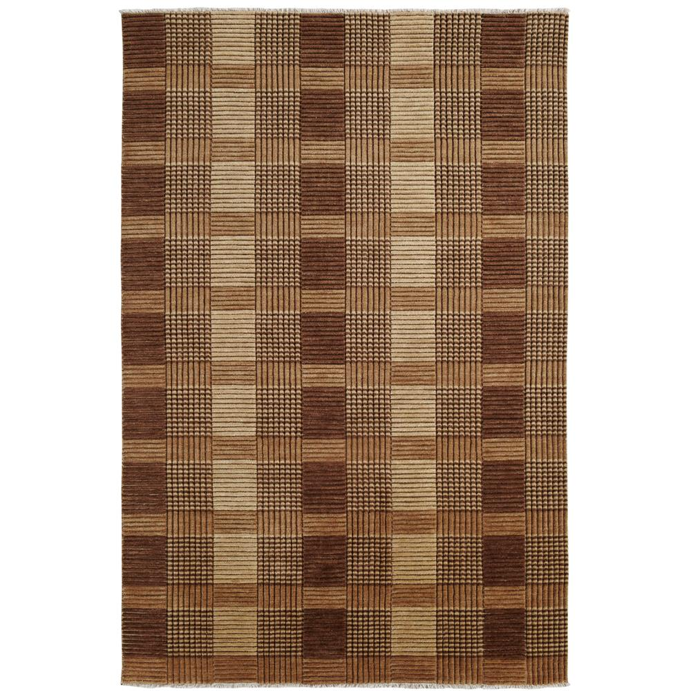 Dynamic Rugs 9899-116 Lounge 4 Ft. X 6 Ft. Rectangle Rug in Brown