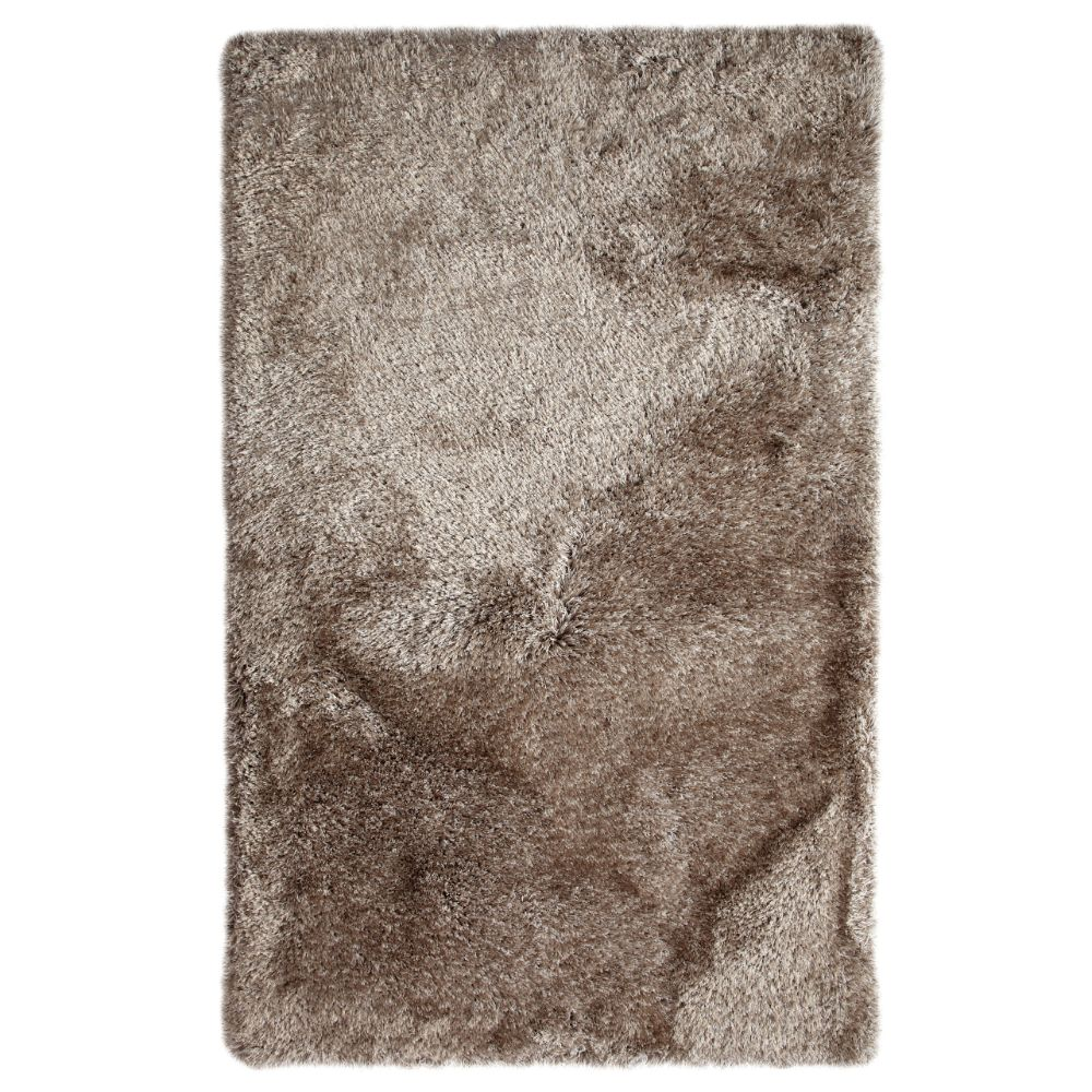 Dynamic Rugs  4201-116 Luxe 3 Ft. X 5 Ft. Rectangle Rug in Stone