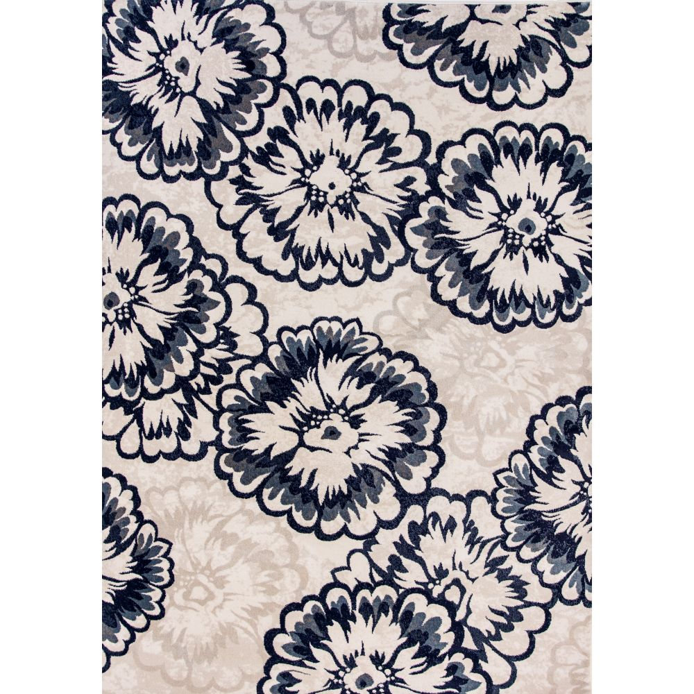 Dynamic Rugs 985013-109 Melody 9 Ft. 2 In. X 12 Ft. 10 In. Rectangle Rug in Ivory