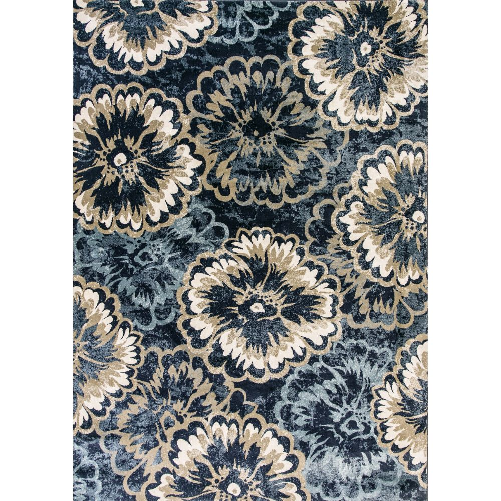 Dynamic Rugs 985013-554 Melody 9 Ft. 2 In. X 12 Ft. 10 In. Rectangle Rug in Anthracite