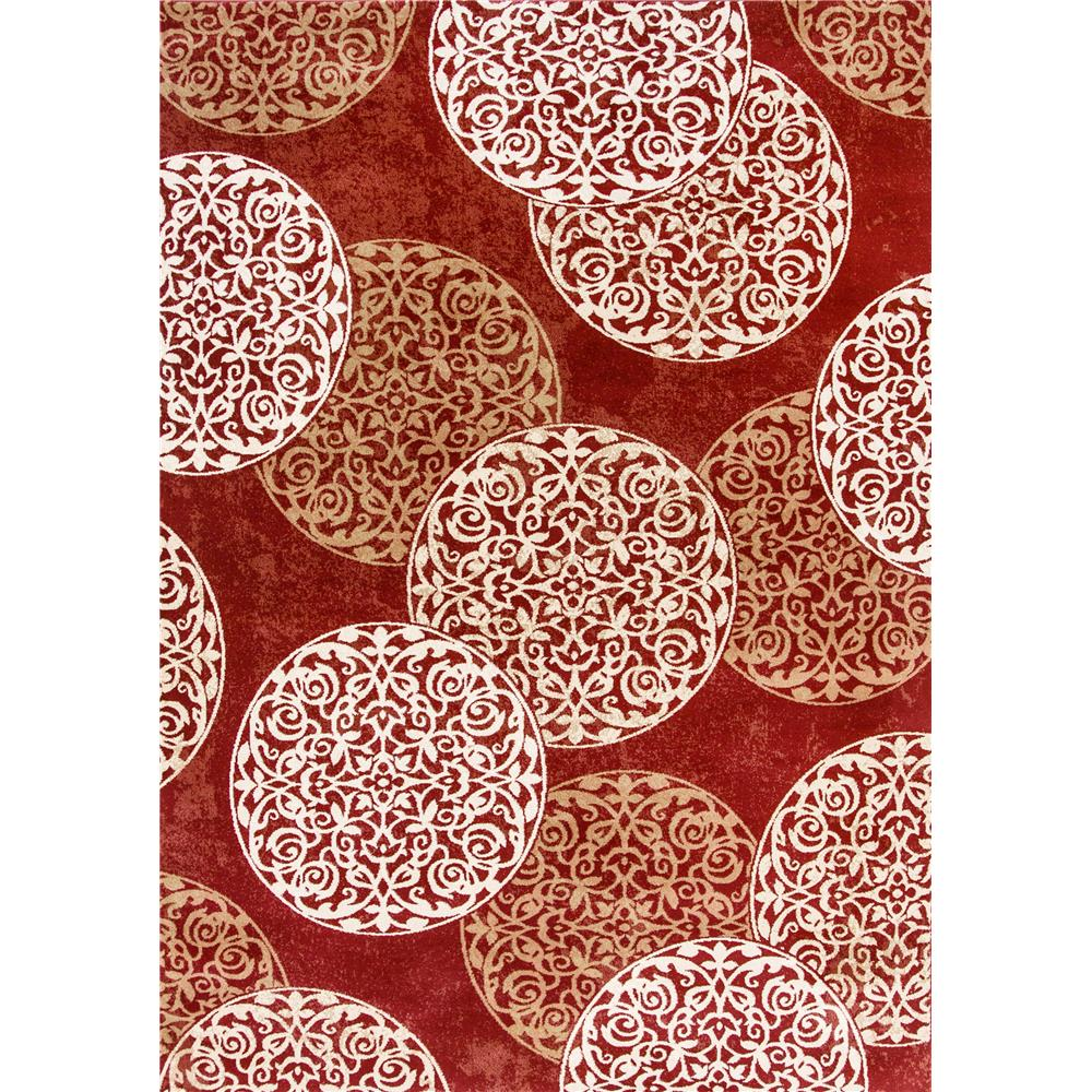 Dynamic Rugs 985014-339 Melody 9 Ft. 2 In. X 12 Ft. 10 In. Rectangle Rug in Red