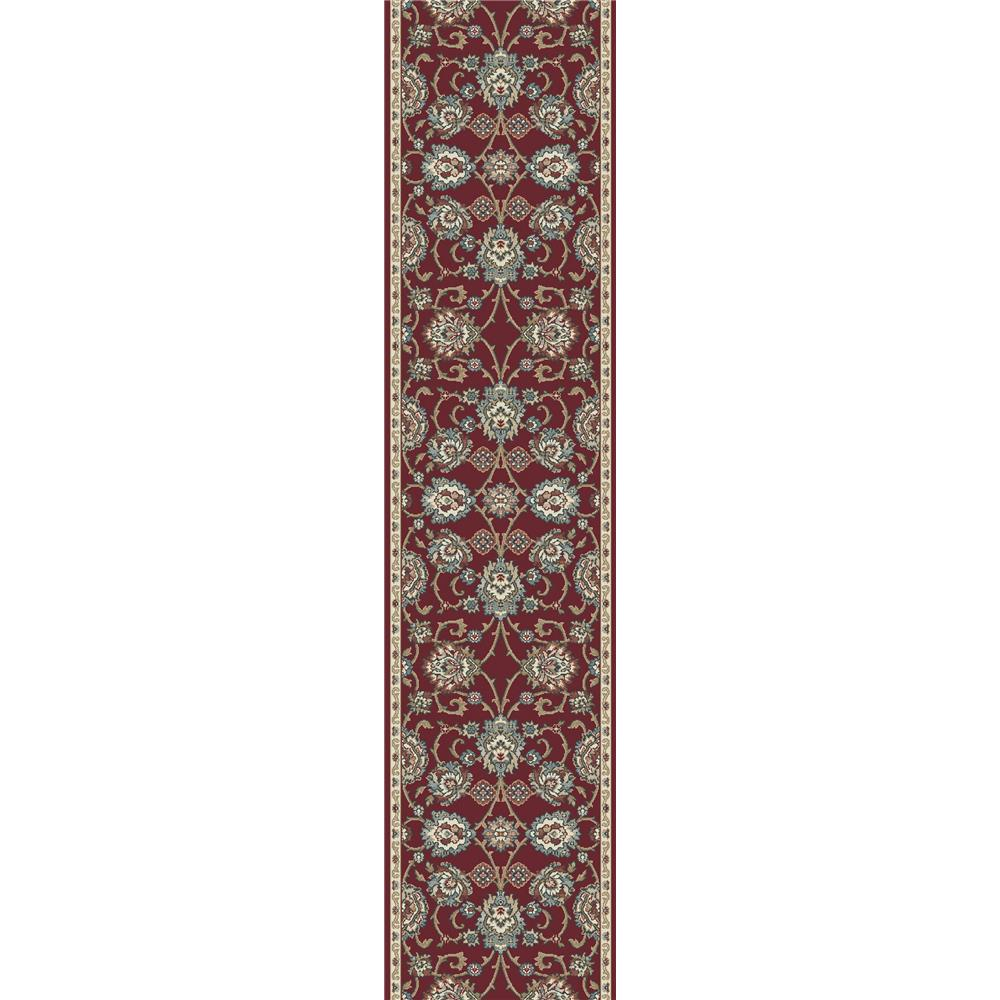 Dynamic Rugs 985020-339 Melody 2 Ft. 2 In. X 10 Ft. 10 In. Runner Rug in Red
