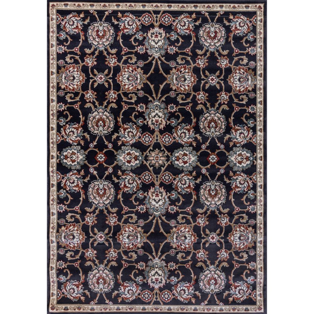 Dynamic Rugs 985020-558 Melody 9 Ft. 2 In. X 12 Ft. 10 In. Rectangle Rug in Anthracite
