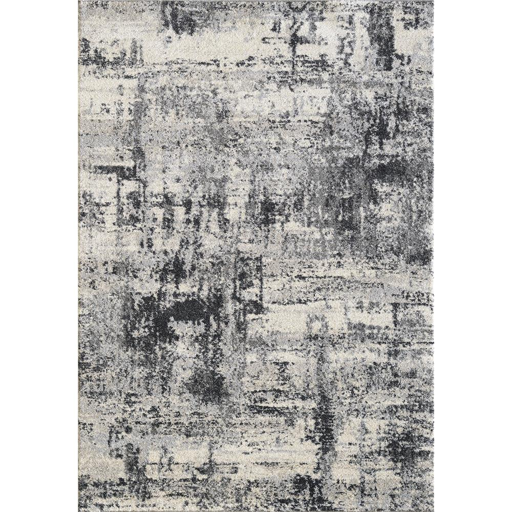 Dynamic Rugs 49111 190 Mirage 2 Ft. X 3 Ft. 11 In. Rectangle Rug in Ivory/Grey