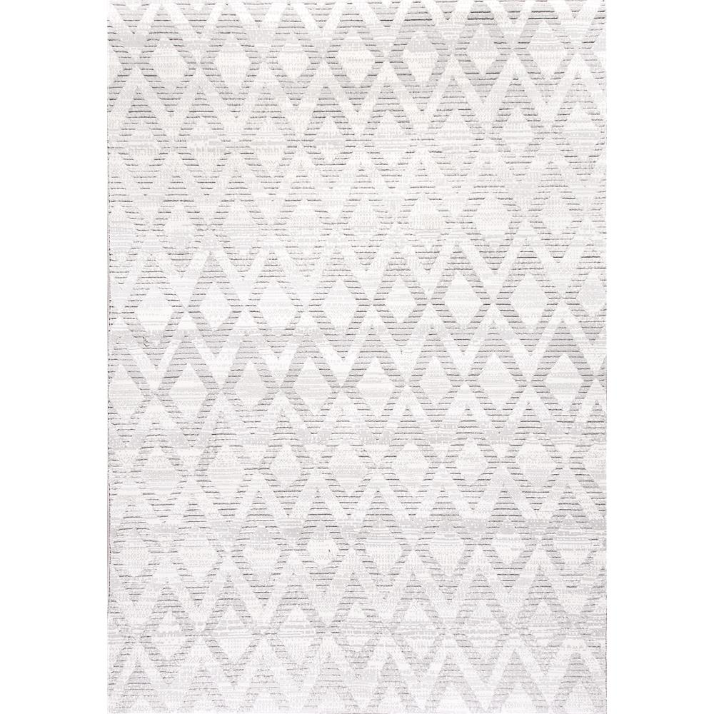Dynamic Rugs 12124-902 Mysterio 2 Ft. X 3 Ft. 11 In. Rectangle Rug in Silver