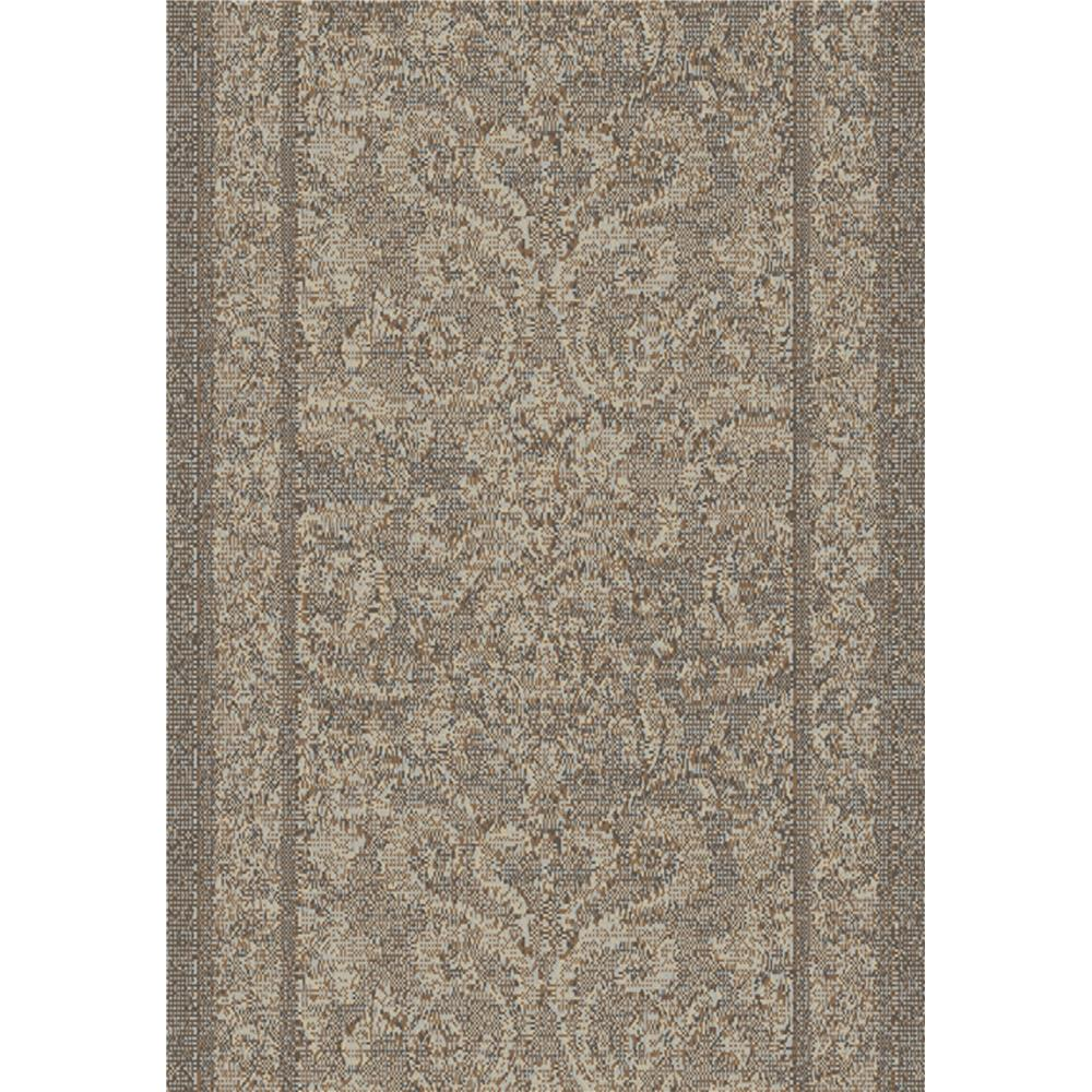 Dynamic Rugs 1217-900 Mysterio 5 Ft. 3 In. X 7 Ft. 7 In. Rectangle Rug in Silver