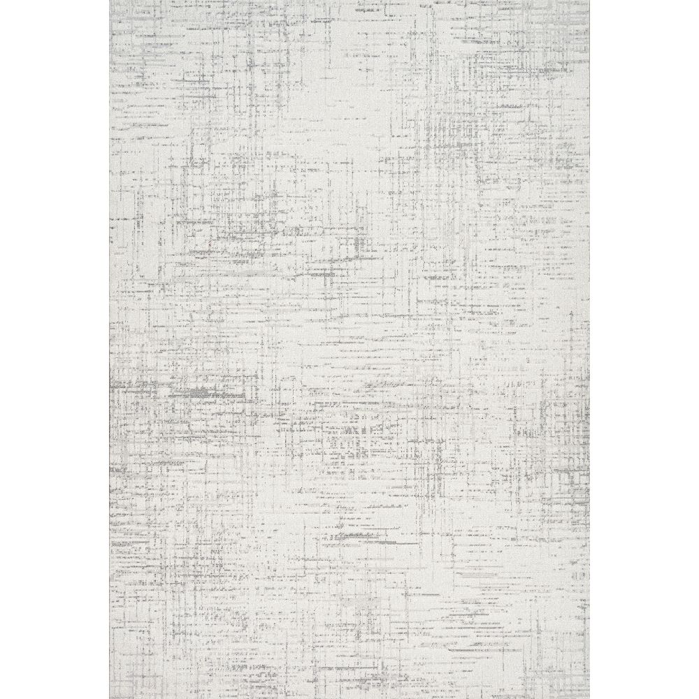 Dynamic Rugs  12189-910 Mysterio 2 Ft. X 3 Ft. 11 In. Rectangle Rug in Silver