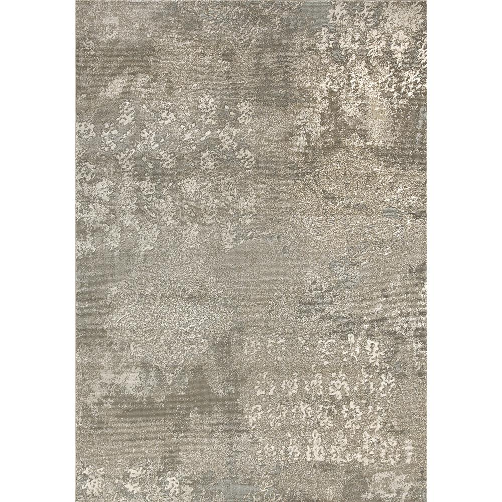 Dynamic Rugs 1220-900 Mysterio 2 Ft. X 3 Ft. 11 In. Rectangle Rug in Silver