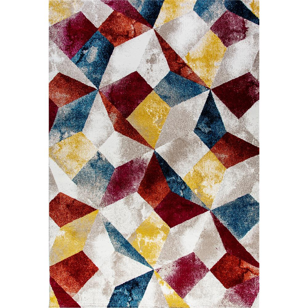Dynamic Rugs  28983-993 Mod 2 Ft. X 3 Ft. 6 In. Rectangle Rug in Multi