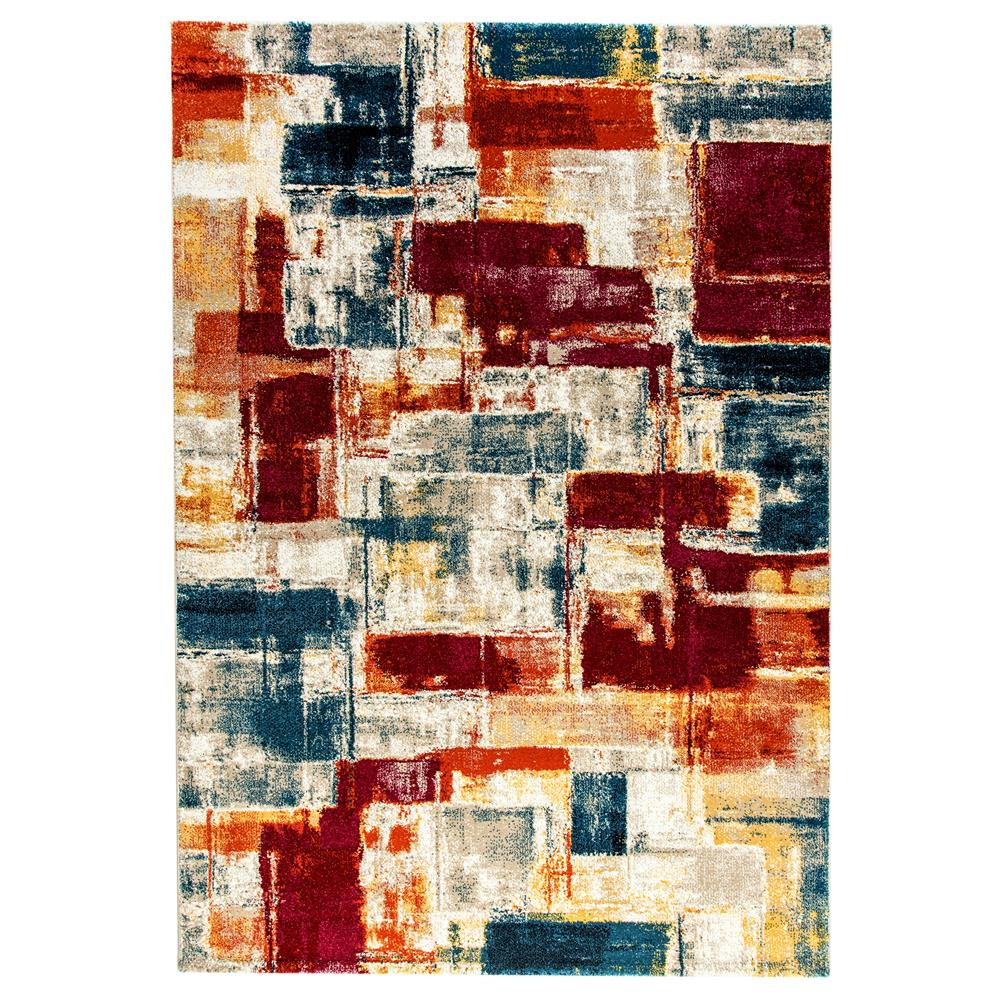 Dynamic Rugs  28987-992 Mod 2 Ft. X 3 Ft. 6 In. Rectangle Rug in Multi