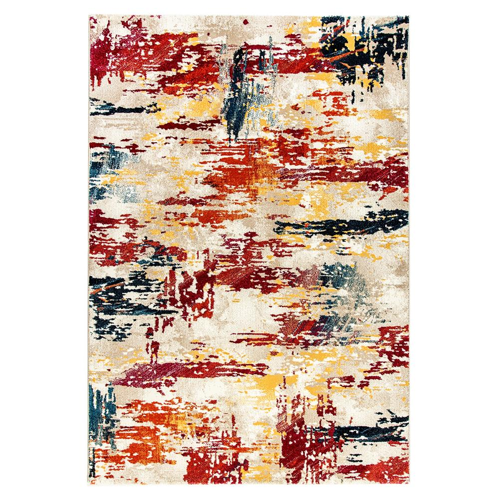 Dynamic Rugs  28999-992 Mod 2 Ft. X 3 Ft. 6 In. Rectangle Rug in Multi