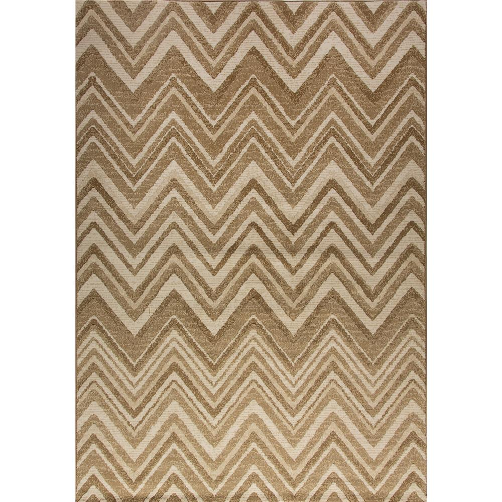 Dynamic Rugs 12136-101 Mysterio 5 Ft. 3 In. X 7 Ft. 7 In. Rectangle Rug in Cream
