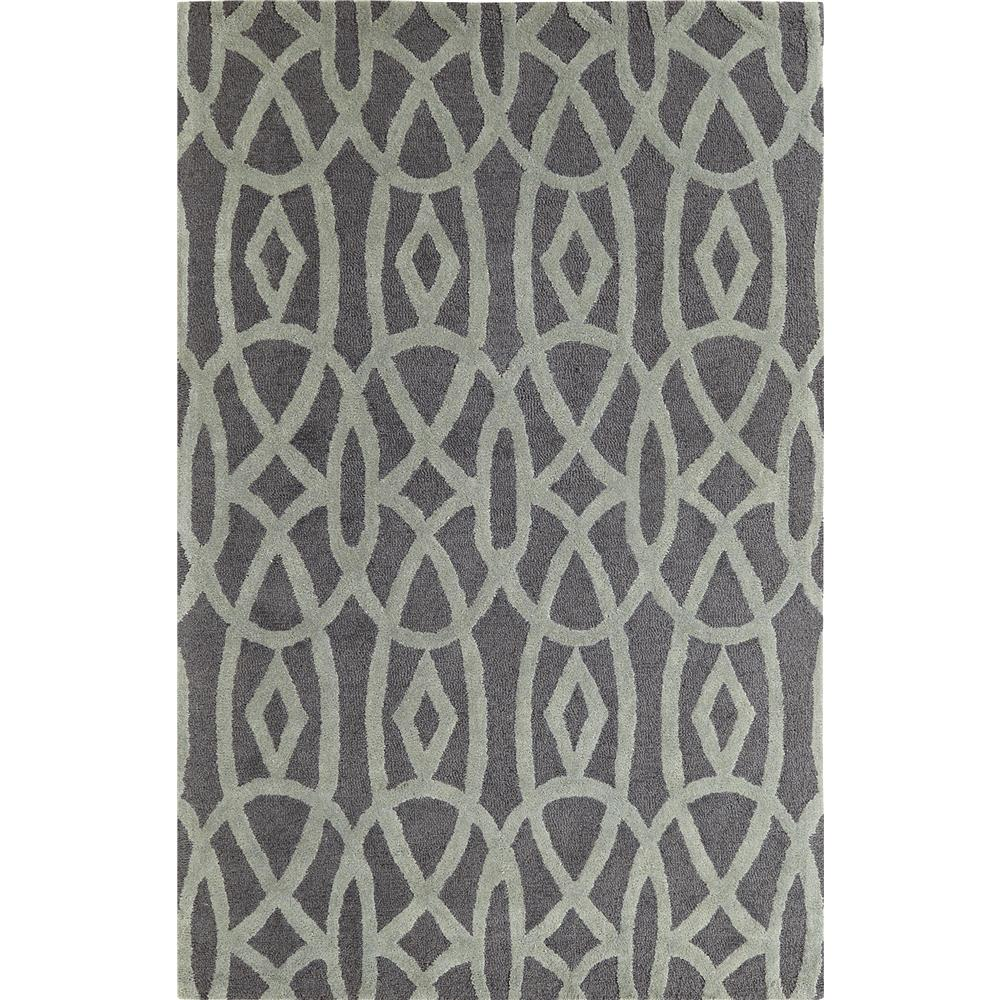 Dynamic Rugs 5570-101 Palace 9 Ft. 6 In. X 13 Ft. 6 In. Rectangle Rug in Grey