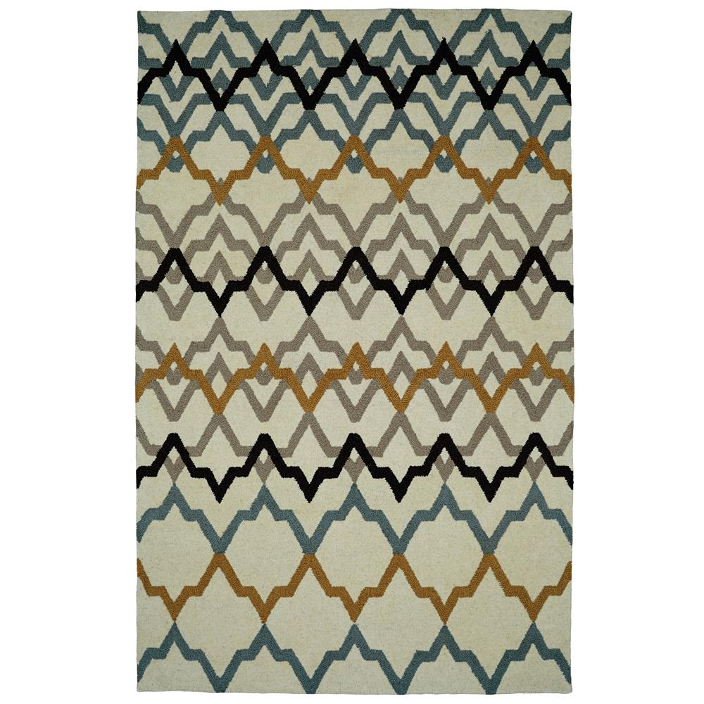 Dynamic Rugs 5575-103 Palace 2 Ft. X 4 Ft. Rectangle Rug in Ivory