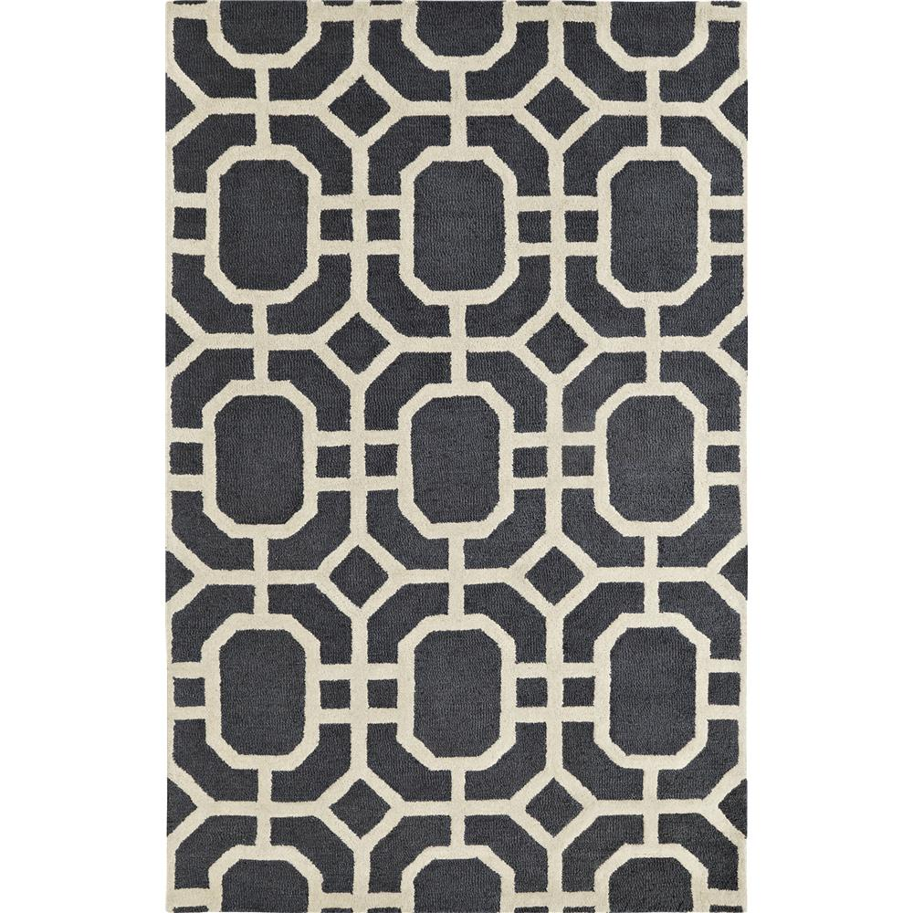 Dynamic Rugs 5599-717 Palace 9 Ft. 6 In. X 13 Ft. 6 In. Rectangle Rug in Grey/Ivory