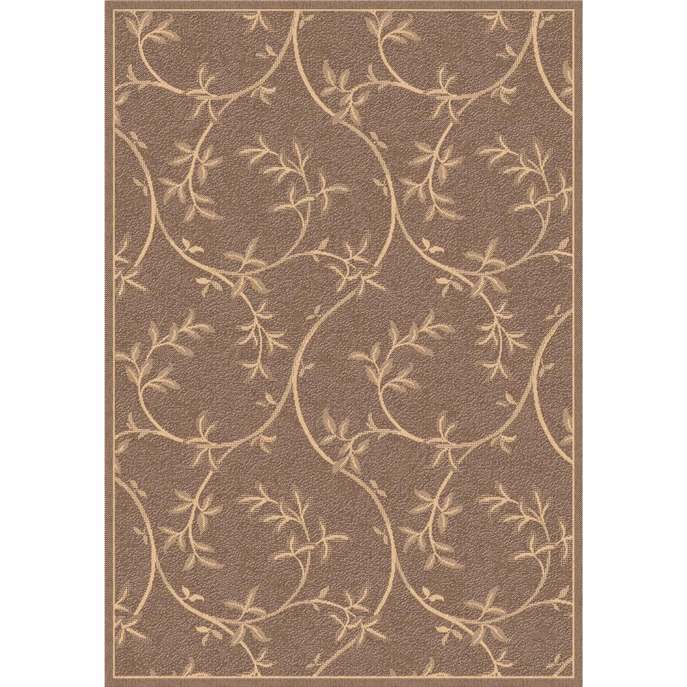 Dynamic Rugs 2585-3009 Piazza 2 Ft. X 3 Ft. 7 In. Rectangle Rug in Brown