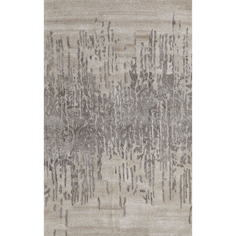 Dynamic Rugs 7803-717 Posh 2 Ft. X 4 Ft. Rectangle Rug in Grays