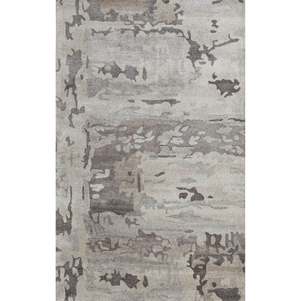 Dynamic Rugs 7808-719 Posh 4 Ft. X 6 Ft. Rectangle Rug in Grays