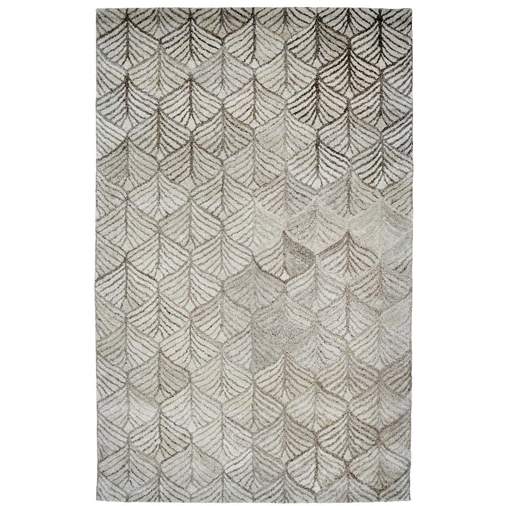 Dynamic Rugs 7812-719 Posh 2 Ft. X 4 Ft. Rectangle Rug in Grays