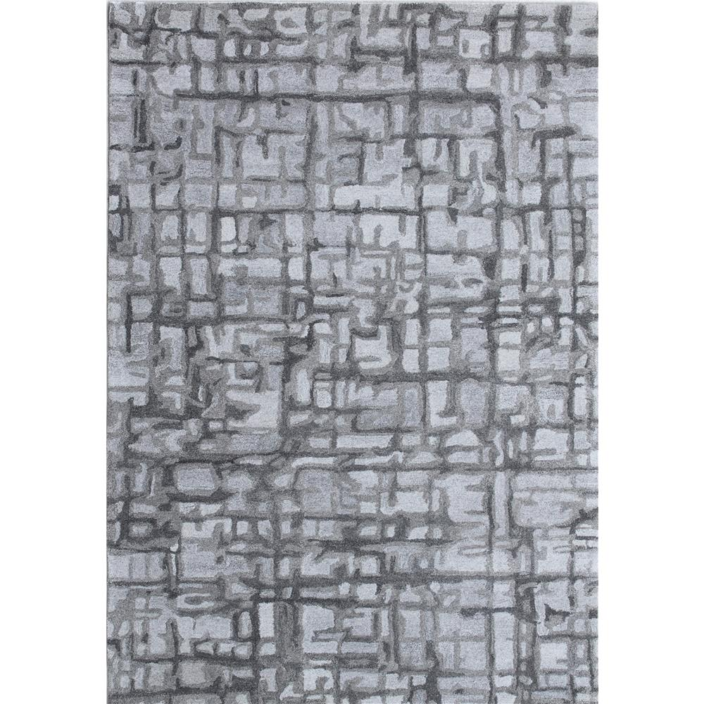 Dynamic Rugs  7813-900 Posh 2 Ft. X 4 Ft. Rectangle Rug in Grey