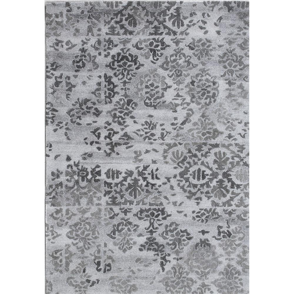 Dynamic Rugs  7814-900 Posh 2 Ft. X 4 Ft. Rectangle Rug in Grey