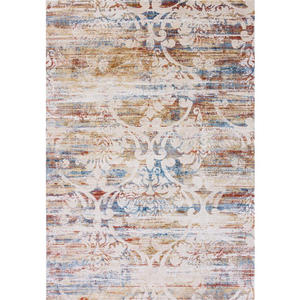 Dynamic Rugs  4430-109 Prism 9 Ft. 2 In. X 12 Ft. 10 In. Rectangle Rug in Ivory/Multi
