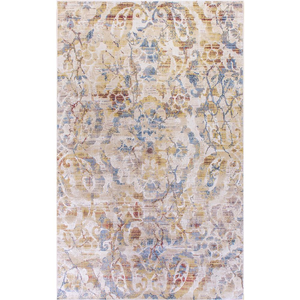 Dynamic Rugs  4432-109 Prism 9 Ft. 2 In. X 12 Ft. 10 In. Rectangle Rug in Ivory / Multi