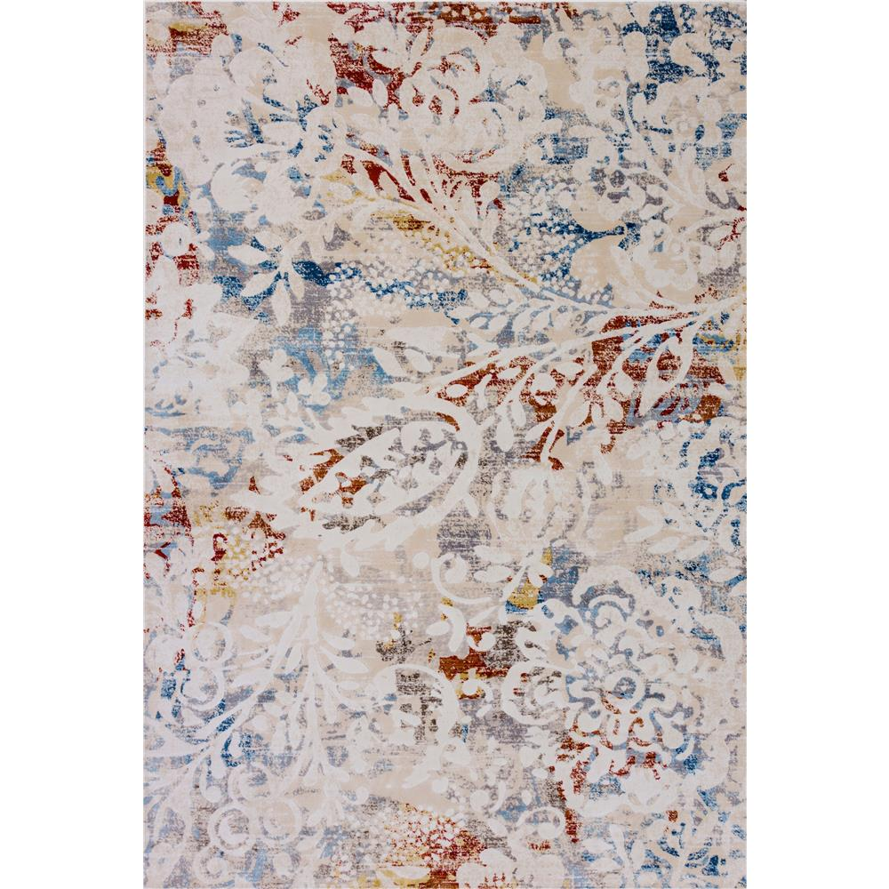 Dynamic Rugs  4437-109 Prism 9 Ft. 2 In. X 12 Ft. 10 In. Rectangle Rug in Ivory/Multi