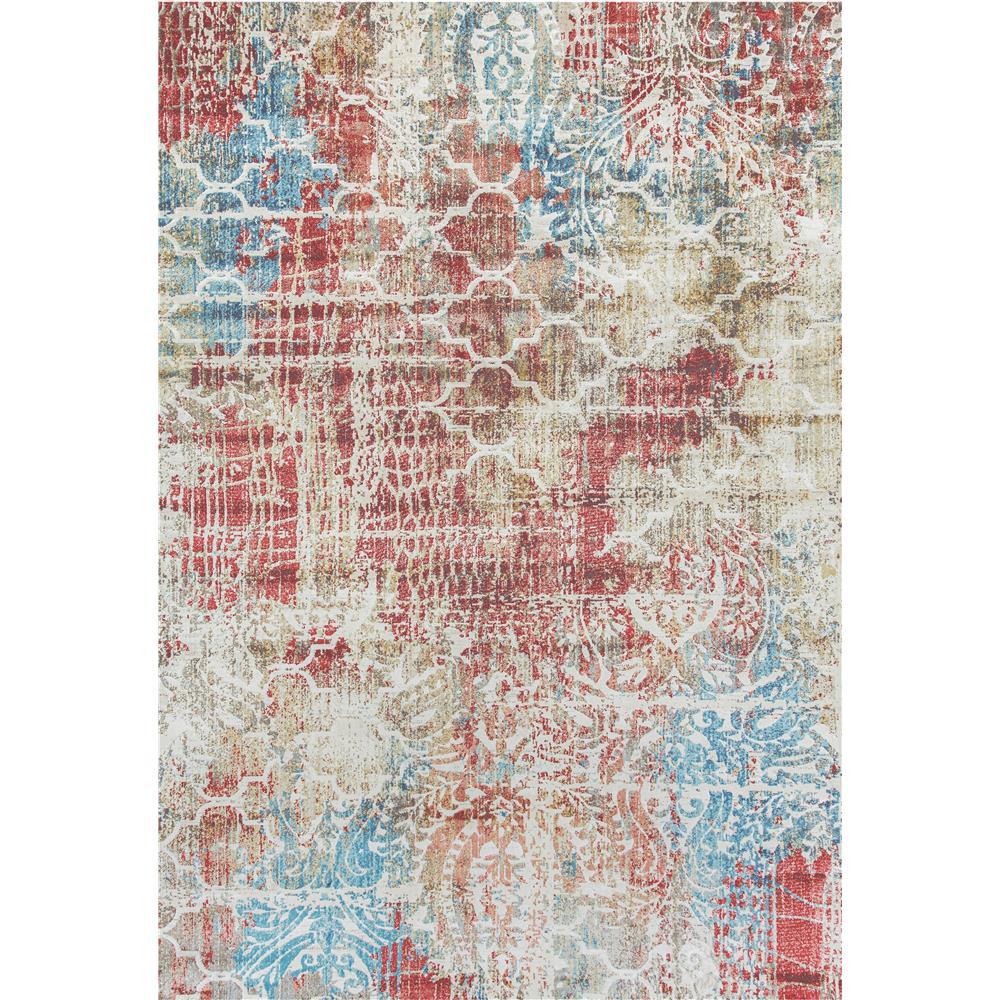 Dynamic Rugs  4442-130 Prism 9 Ft. 2 In. X 12 Ft. 10 In. Rectangle Rug in Blue/Multi