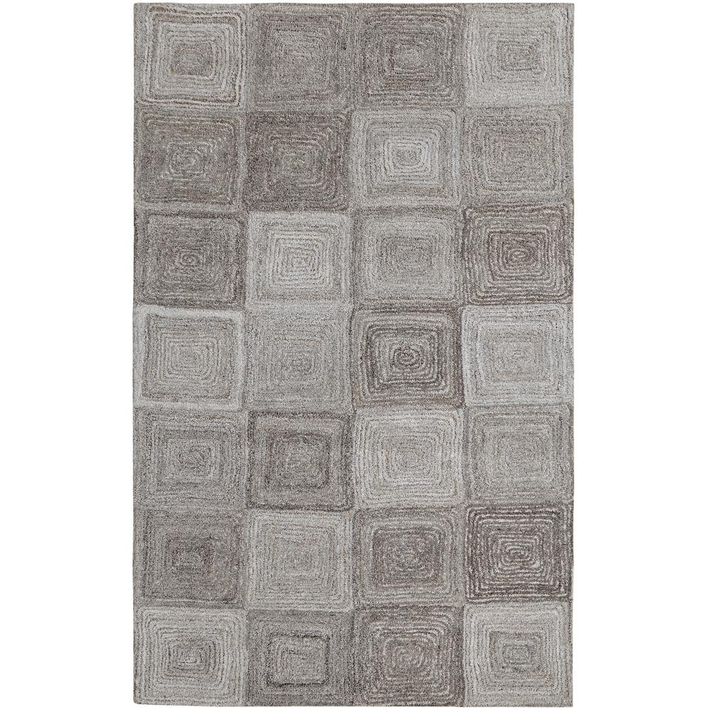 Dynamic Rugs 7805-717 Posh 2 Ft. X 4 Ft. Rectangle Rug in Grays