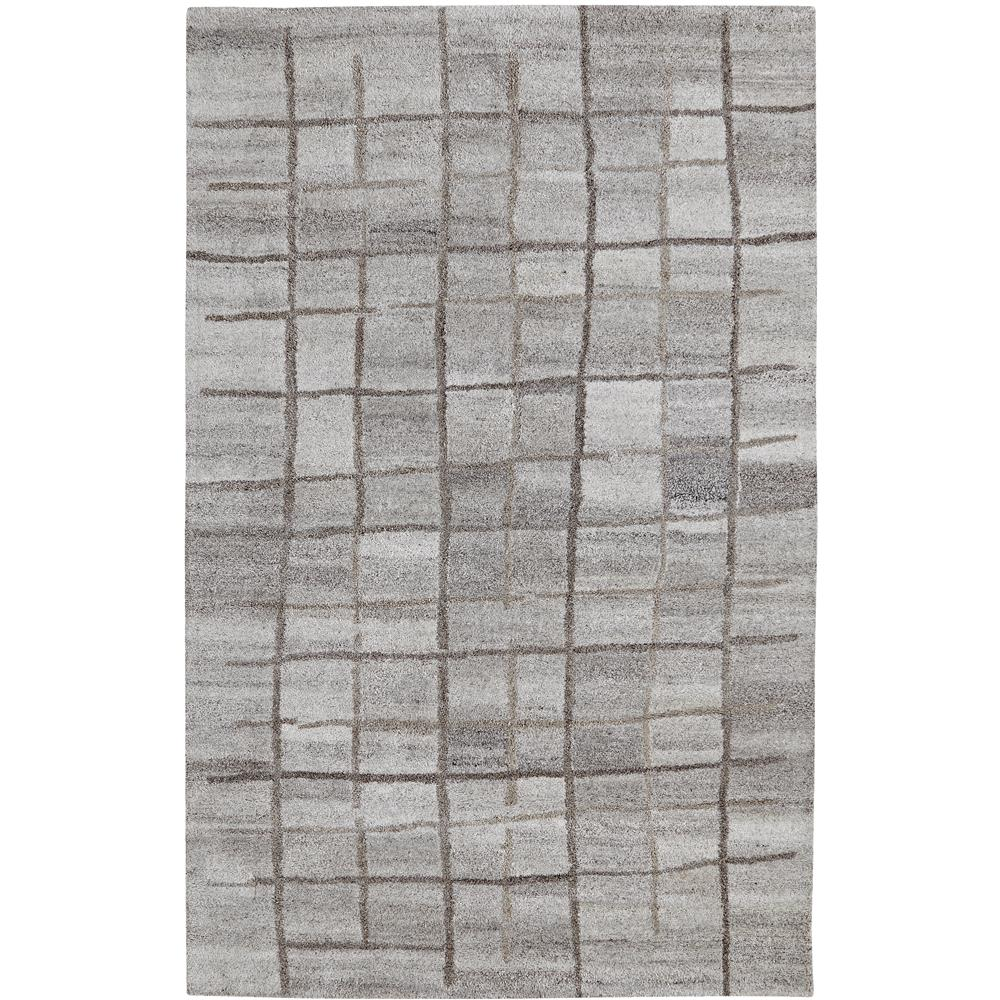Dynamic Rugs 7809-717 Posh 2 Ft. X 4 Ft. Rectangle Rug in Grays