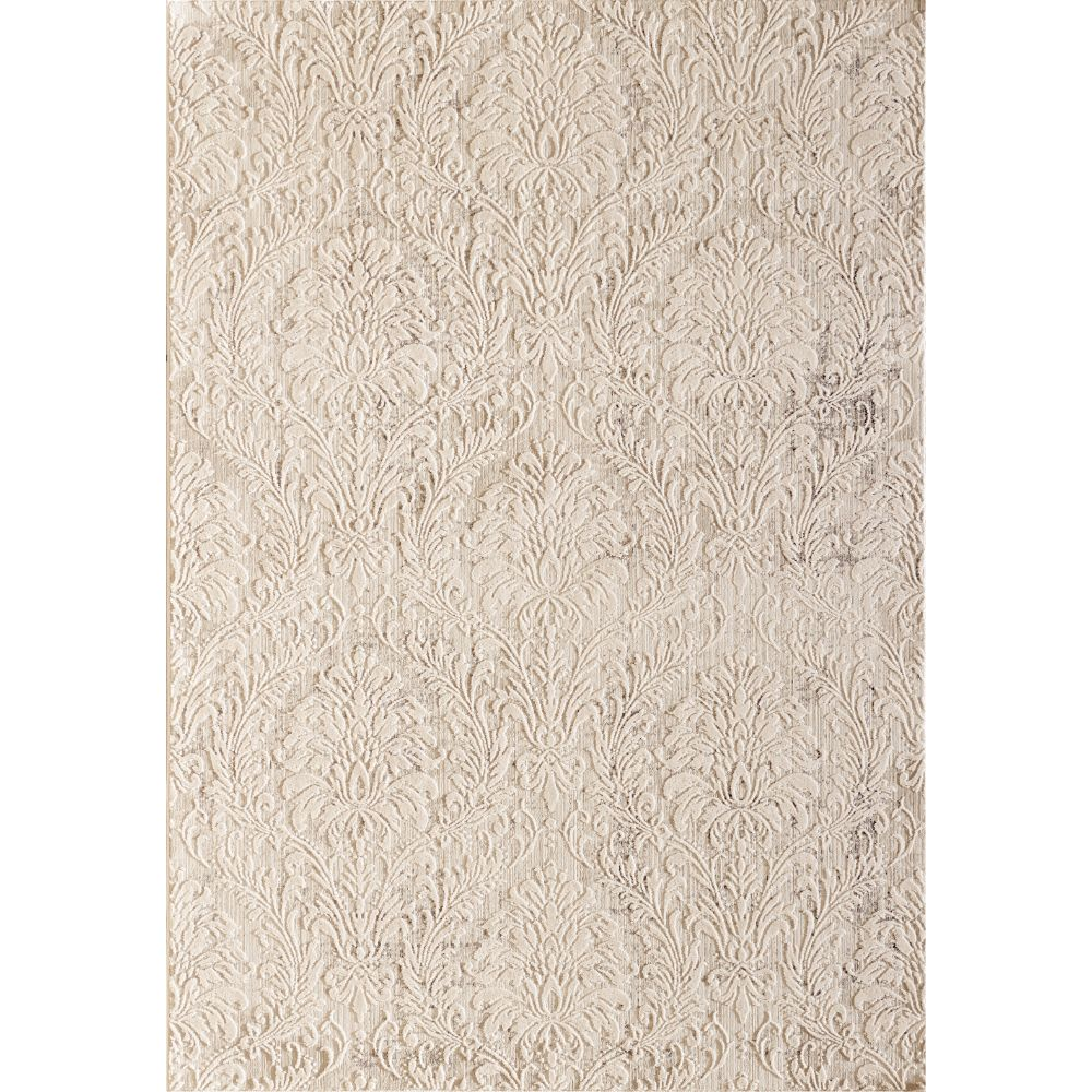 Dynamic Rugs 27020 110 Quartz 2 Ft. 2 In. X 7 Ft. 7 In. Runner Rug in Ivory/Beige
