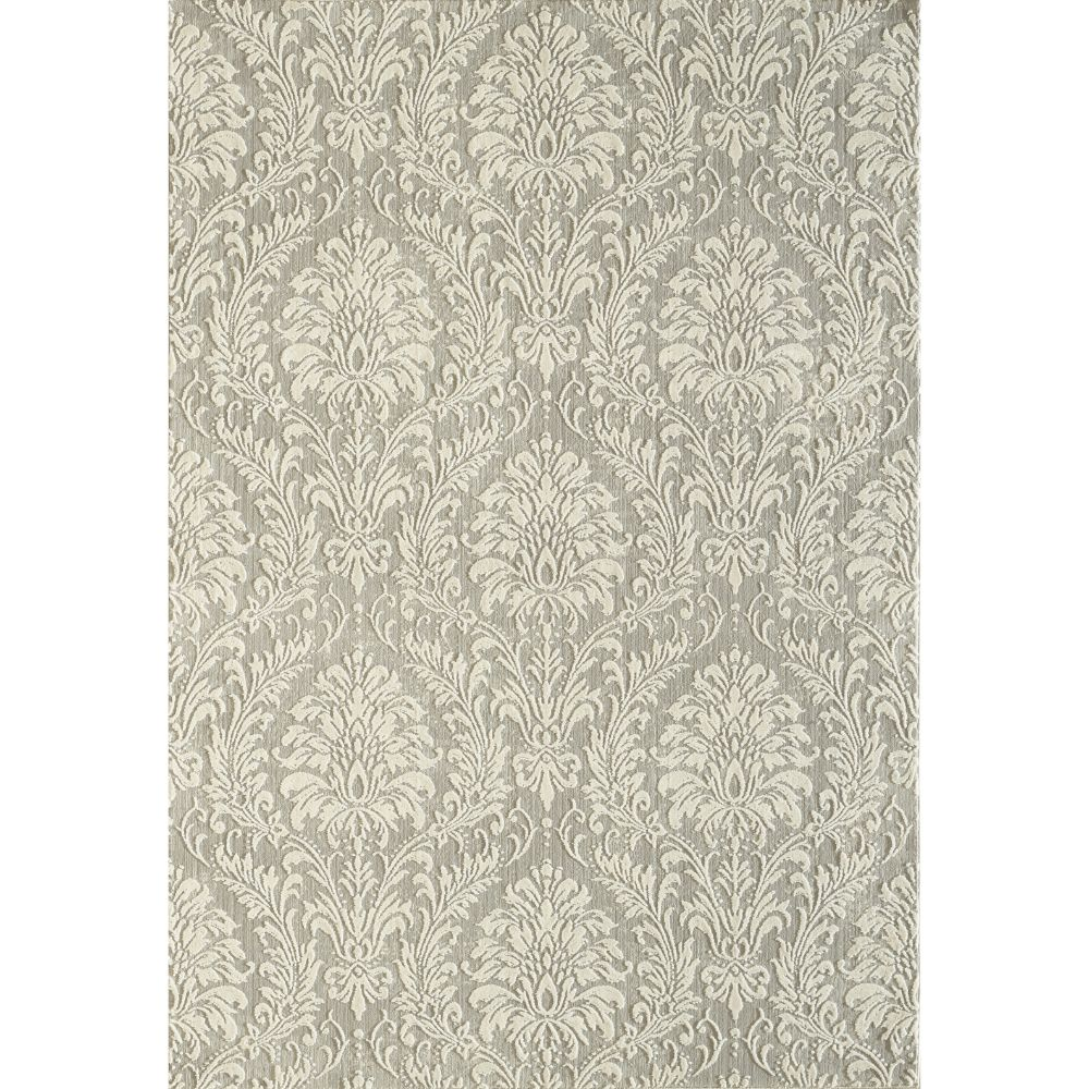 Dynamic Rugs 27020 190 Quartz 2 Ft. 2 In. X 7 Ft. 7 In. Runner Rug in Light Grey