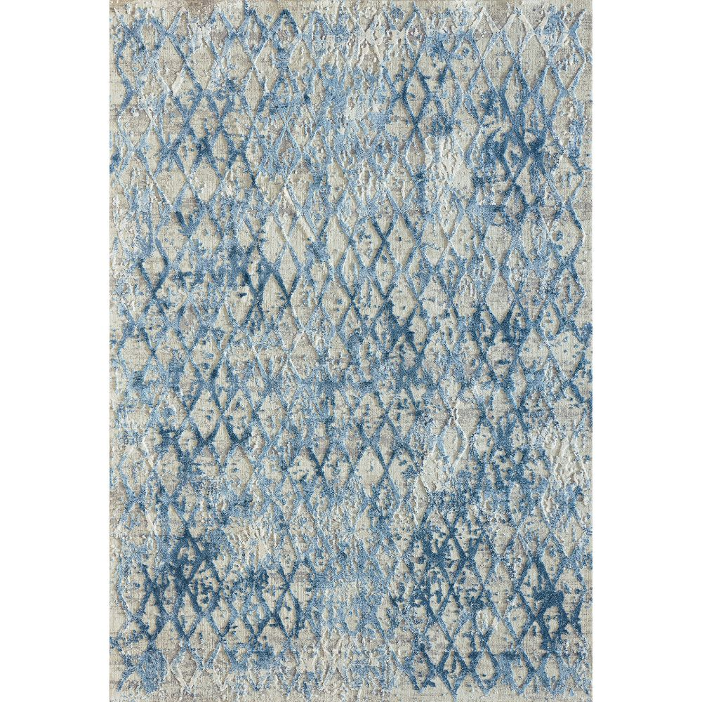 Dynamic Rugs 27039 500 Quartz 9 Ft. 2 In. X 12 Ft. 10 In. Rectangle Rug in Ivory/Blue