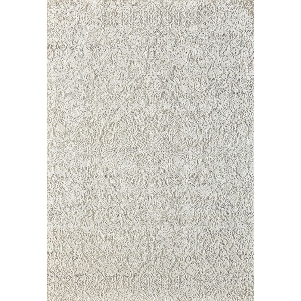 Dynamic Rugs 27040 100 Quartz 9 Ft. 2 In. X 12 Ft. 10 In. Rectangle Rug in Ivory