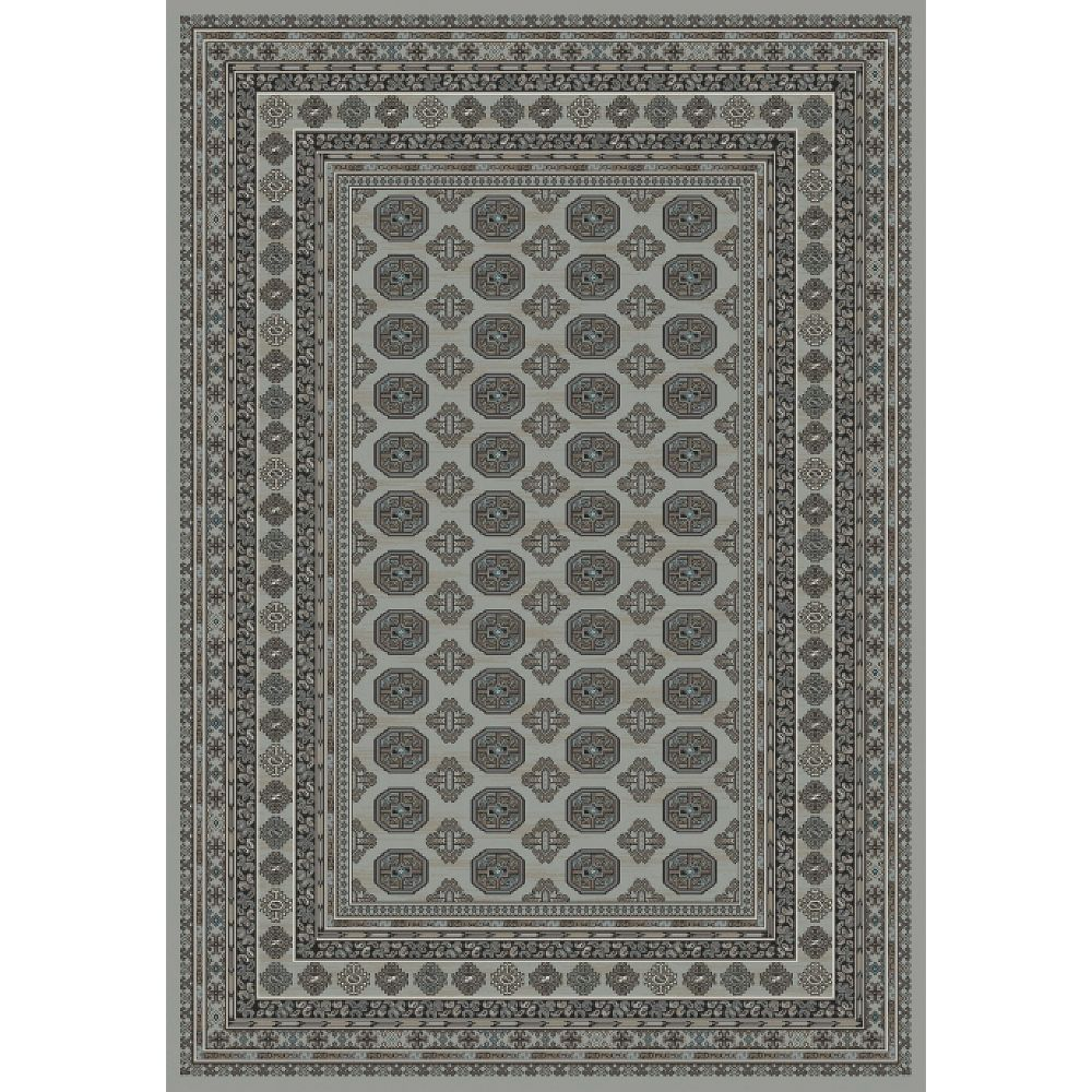 Dynamic Rugs 88404-5959 Regal 2 Ft. 2 In. X 7 Ft. 7 In. Runner Rug in Grays
