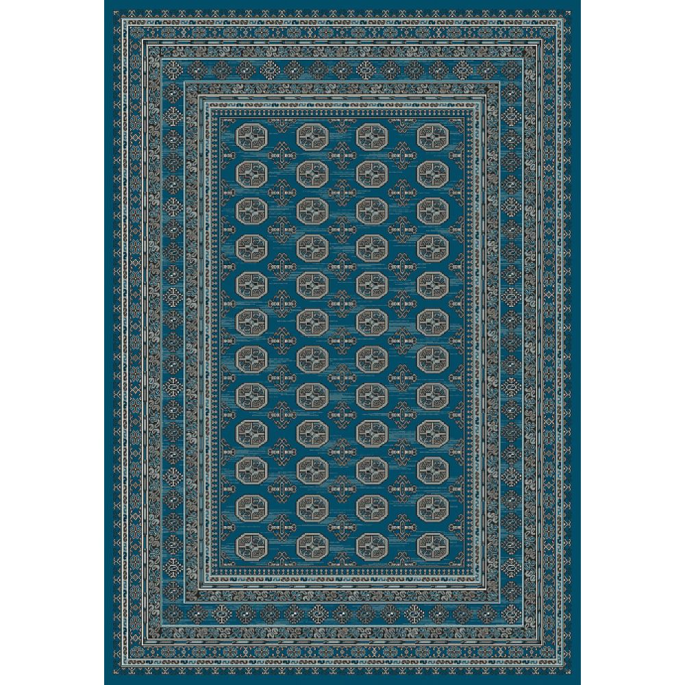Dynamic Rugs 88404-8989 Regal 3 Ft. 6 In. X 5 Ft. 6 In. Rectangle Rug in Blues