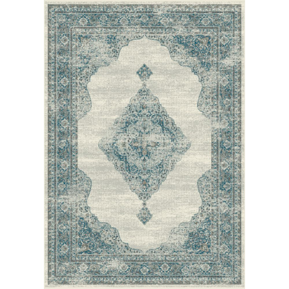 Dynamic Rugs 88416 6949 Regal 2 Ft. X 3 Ft. 5 In. Rectangle Rug in Grey/Blue