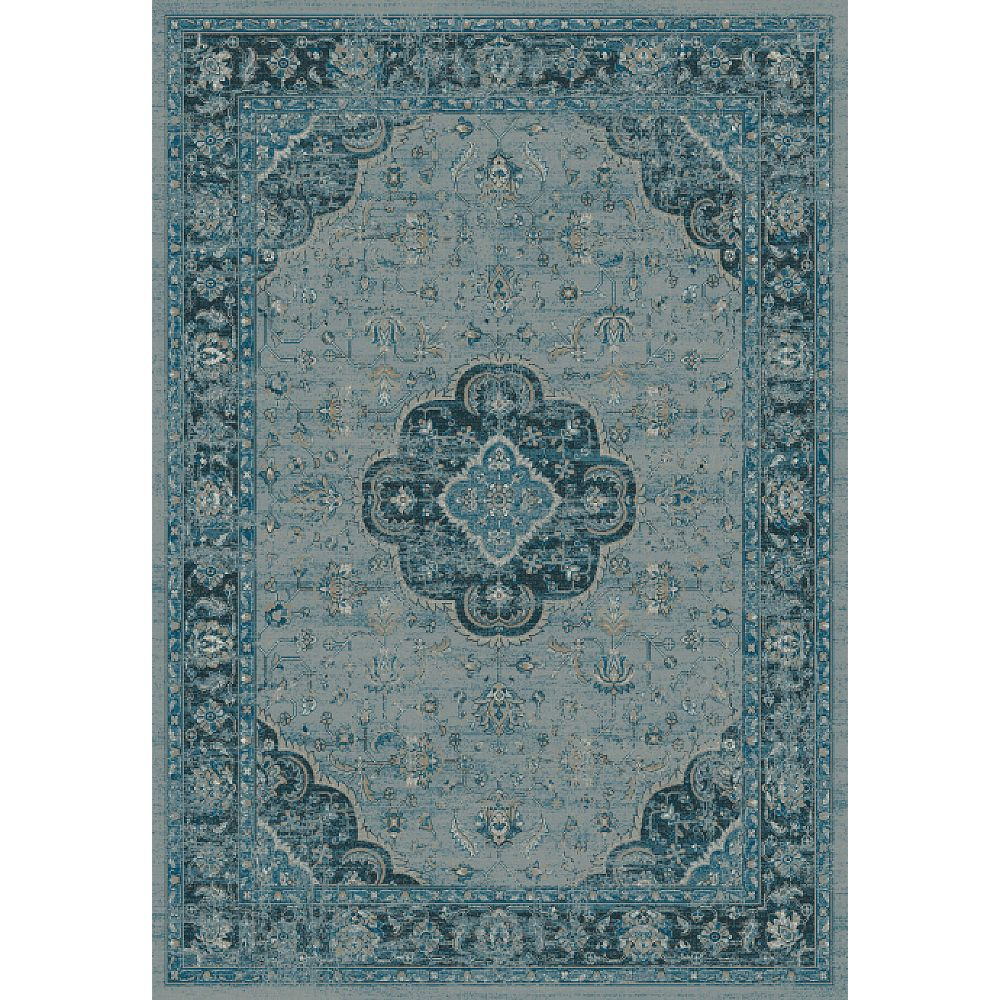 Dynamic Rugs 88910-4989 Regal 3 Ft. 6 In. X 5 Ft. 6 In. Rectangle Rug in Blues