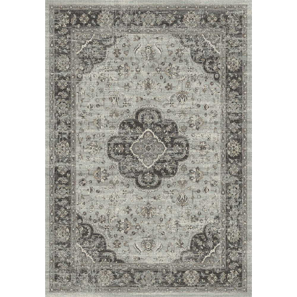 Dynamic Rugs 88910-5979 Regal 2 Ft. X 3 Ft. 5 In. Rectangle Rug in Grays